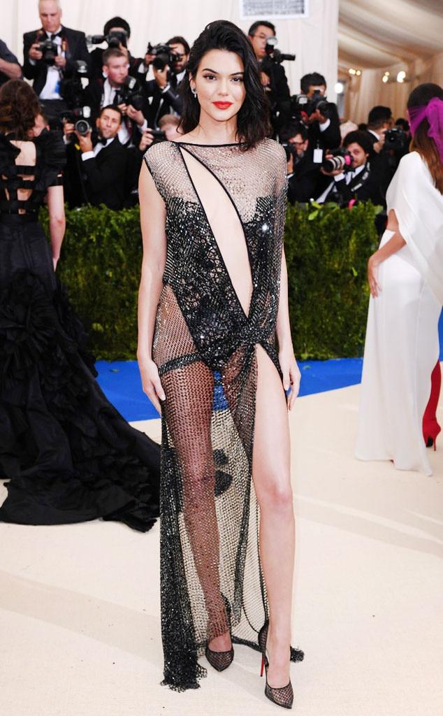 ESC: Kendall Jenner, Met Gala 2017