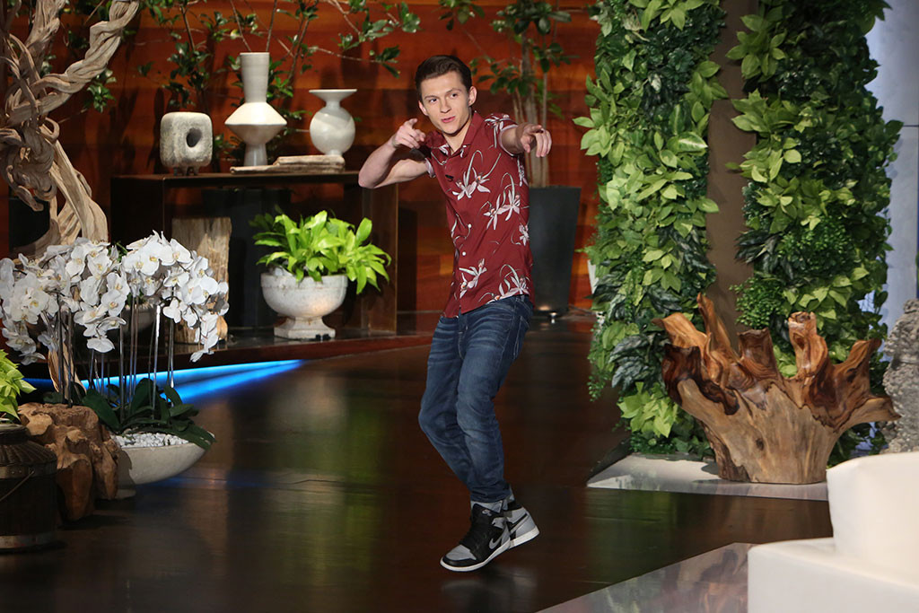 Tom Holland, The Ellen DeGeneres Show