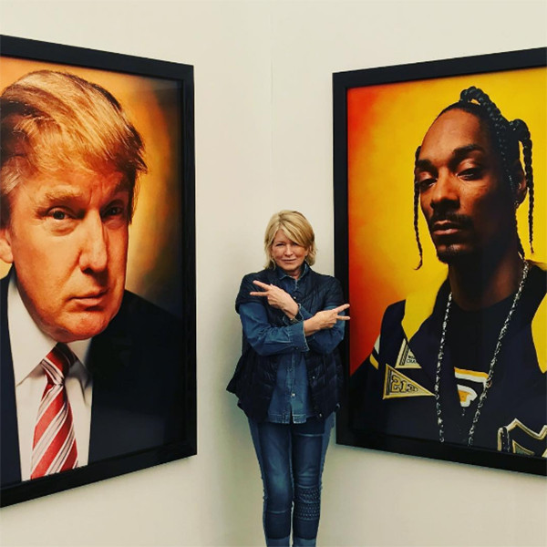 Martha Stewart, Donald Trump, Snoop Dogg