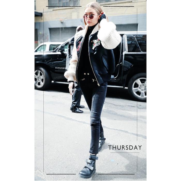 ESC: Gigi Hadid, 5 Days