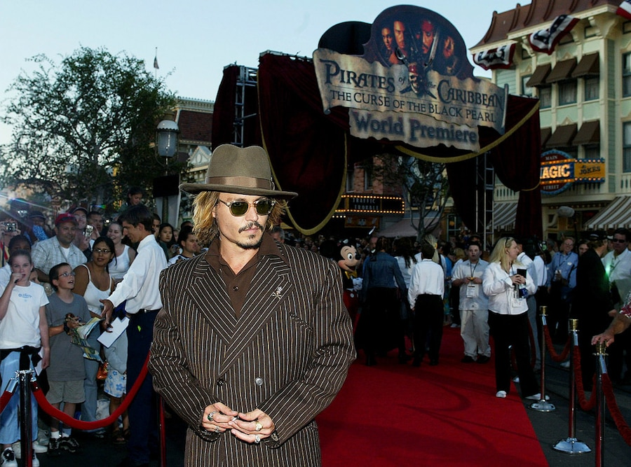 Johnny Depp, Pirates of the Caribbean
