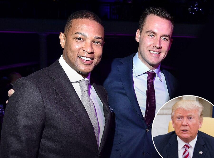 Don Lemon, Chris Cuomo, Donald Trump