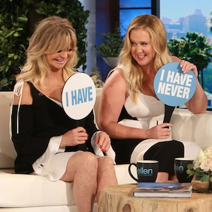 Goldie Hawn, Amy Schumer, The Ellen DeGeneres Show