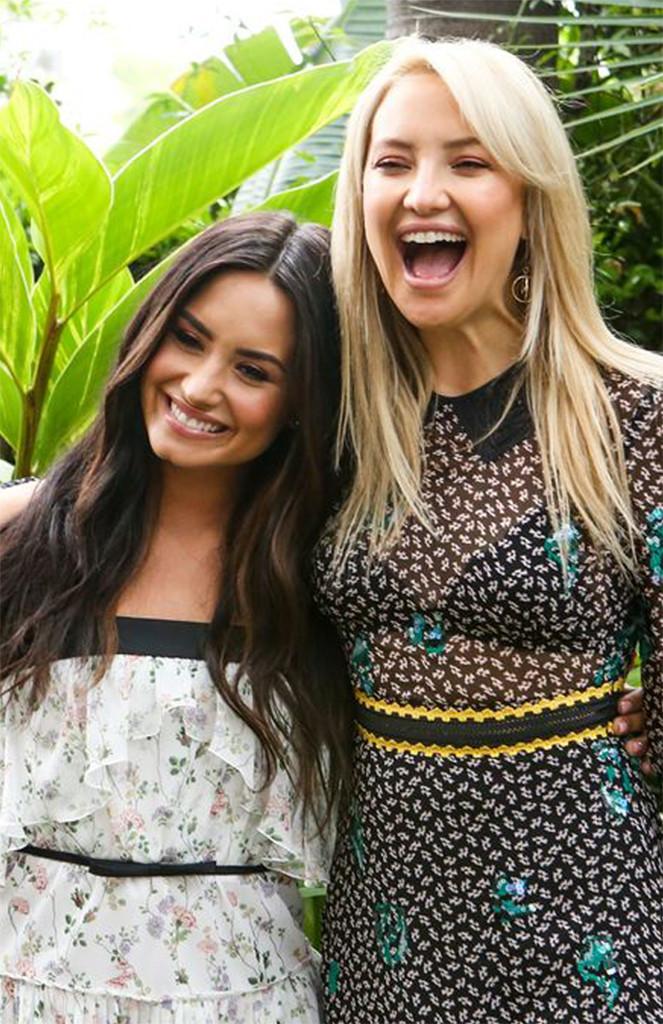 Demi Lovato, Kate Hudson