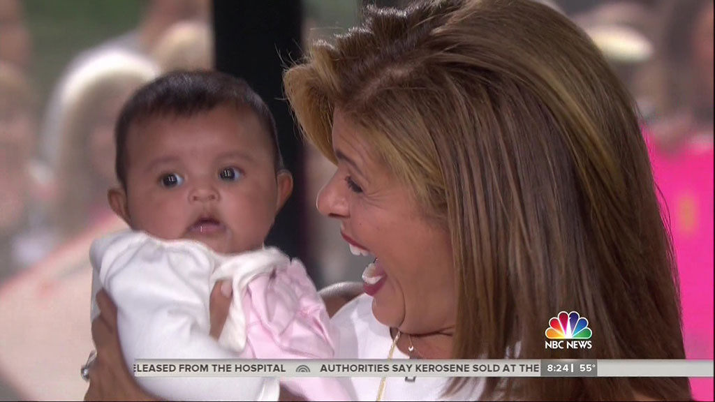 Hoda Kotb, Haley Joy, Today
