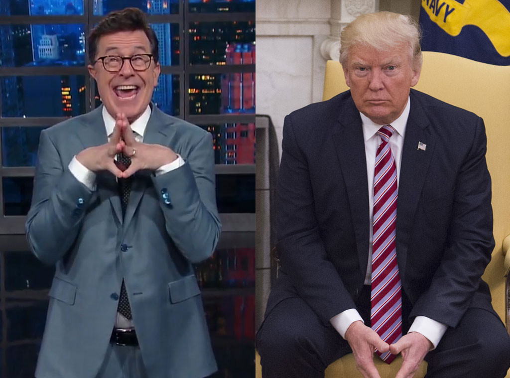 Stephen Colbert, The Late Show, Donald Trump