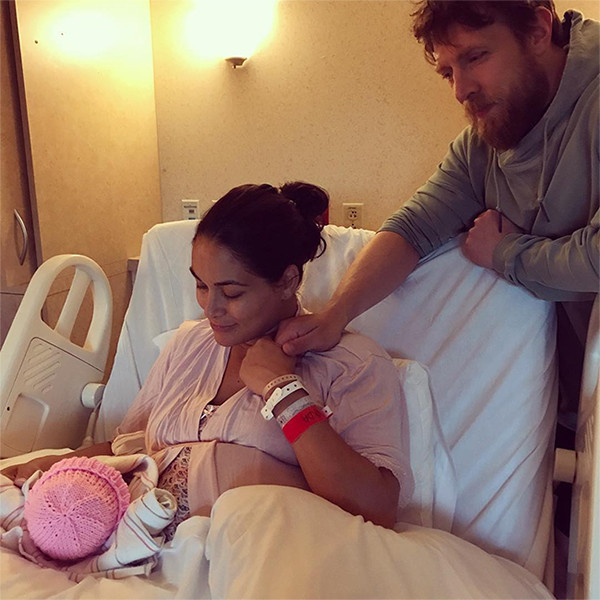 Brie Bella, Daughter, Baby, Birdie, Daniel Bryan