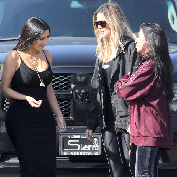 Kourtney Kardashian, Kim Kardashian, Khloe Kardashian