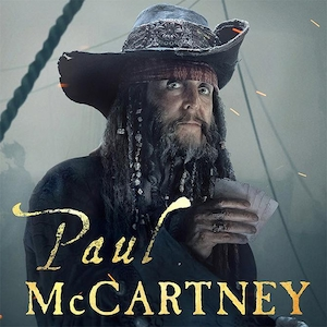 Paul McCartney, Pirates of the Caribbean: Dead Men Tell No Tales, Poster