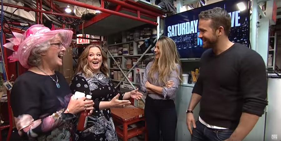 Ryan Reynolds, Blake Lively, Melissa McCarthy, SNL