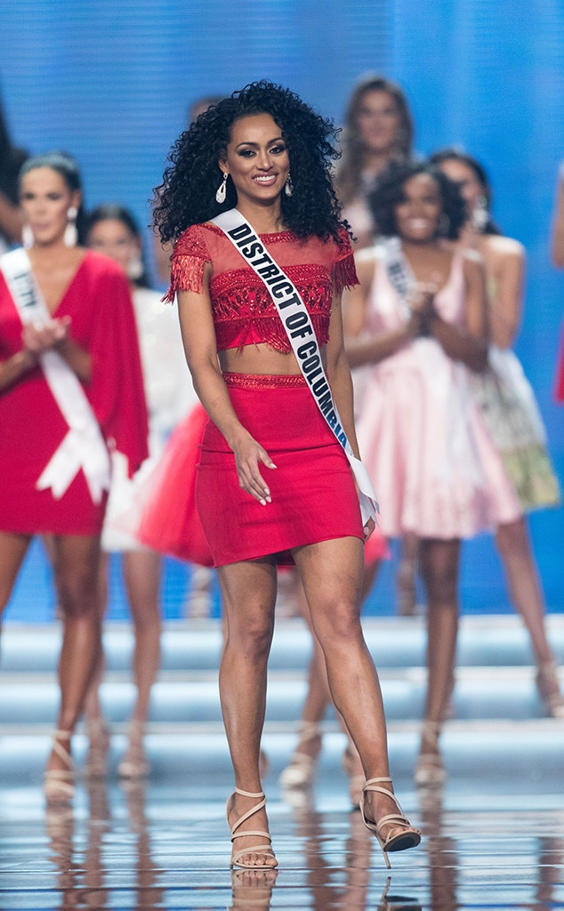Kára McCullough, Washington DC, Miss USA, Top Ten