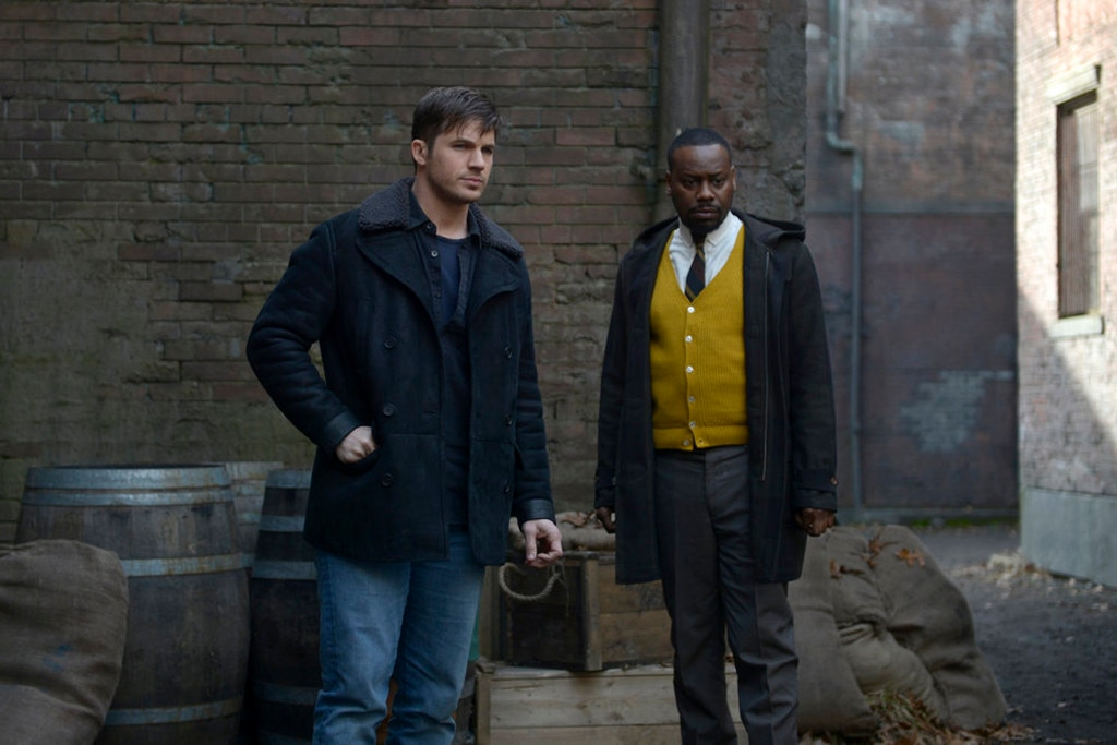 Timeless, Matt Lanter, Malcolm Barrett