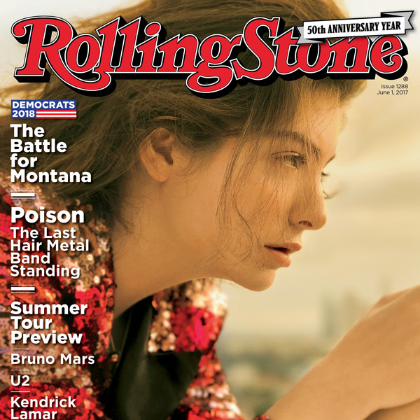 Rolling Stone, Lorde