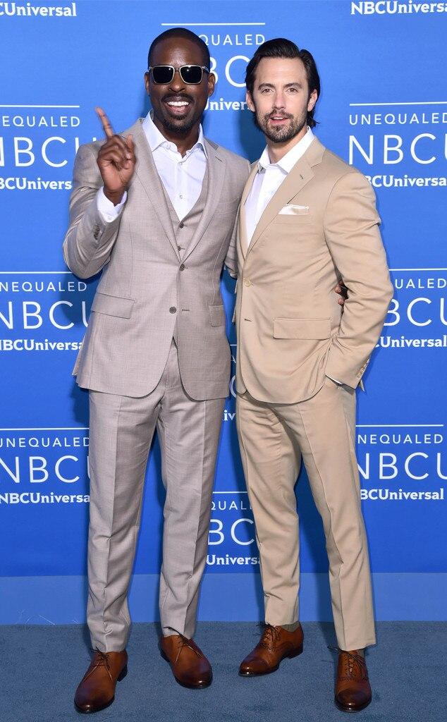 Sterling K. Brown, Milo Ventimiglia, The 2017 NBCUniversal Upfront Presentation