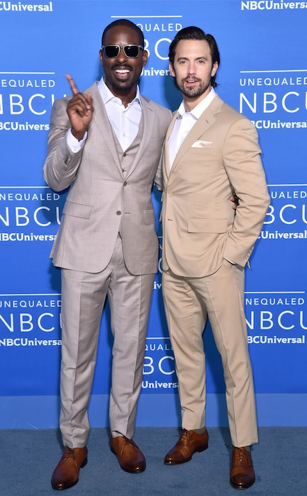 Sterling K. Brown, Milo Ventimiglia, The 2017 NBCUniversal Upfront Presentation