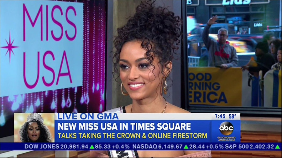 Kára McCullough, Miss USA 2017, Good Morning America