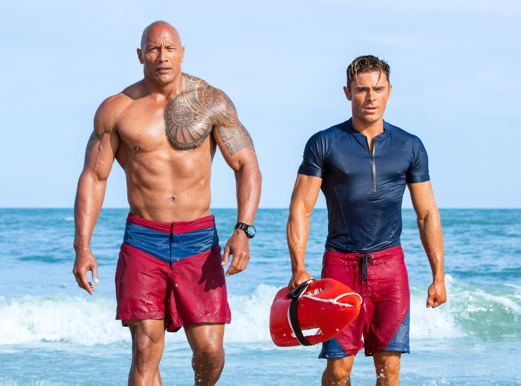 Even The Rock's biceps can't lift up 'Baywatch'