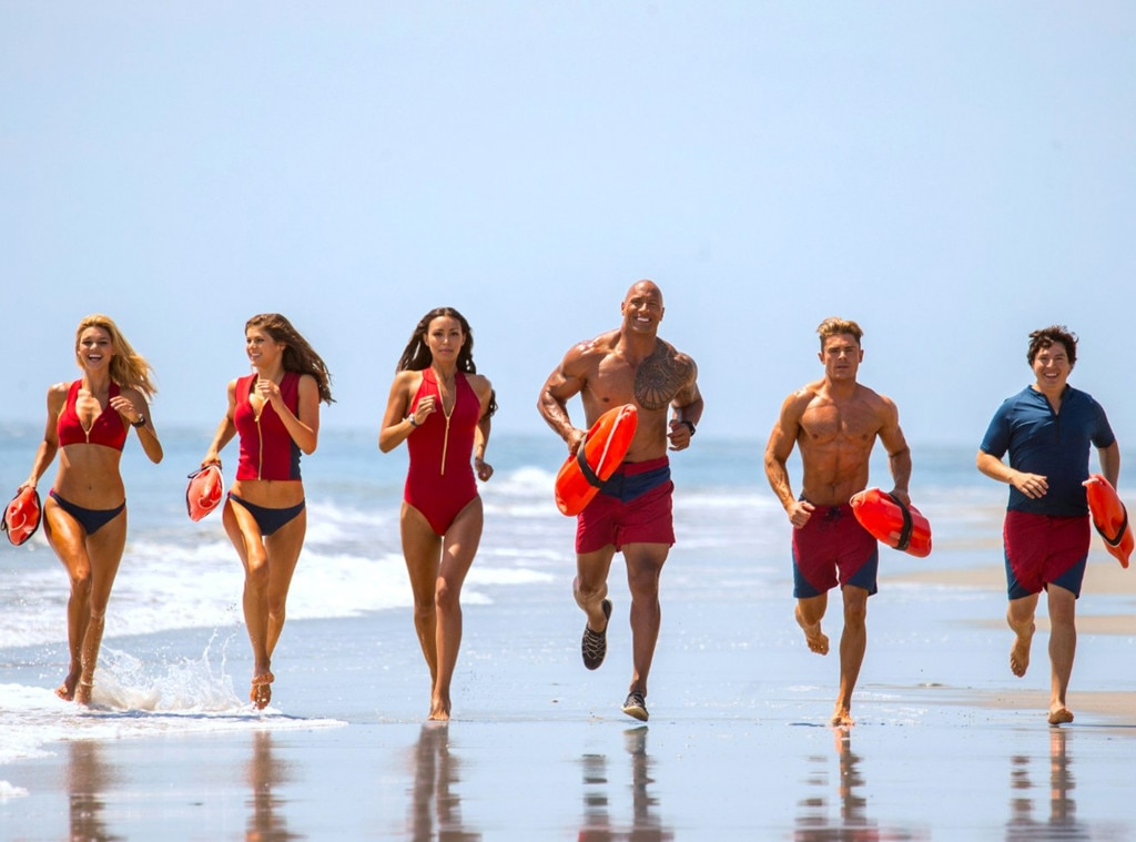 Bronzed Lifeguards of 'Baywatch' Take on Big Screen