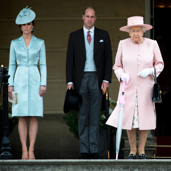 Kate Middleton, Prince William, Queen Elizabeth, Princess Anne, Prince Philip, Princess Beatrice, Royals