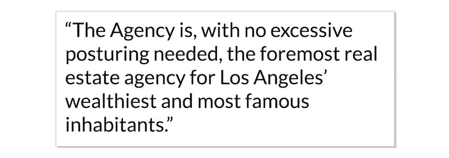The Agency, Pull Quotes