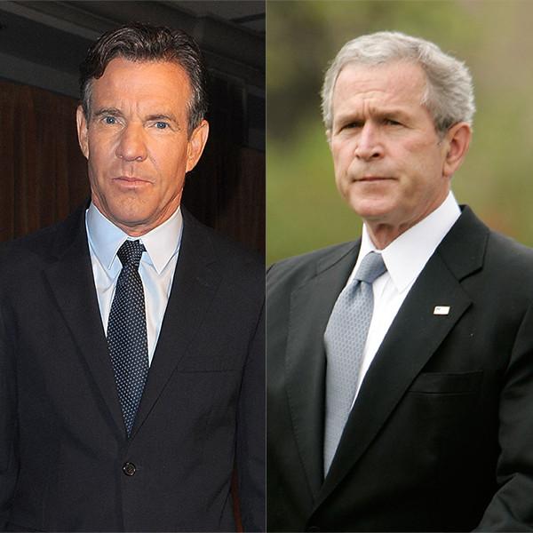 Dennis Quaid, George W. Bush