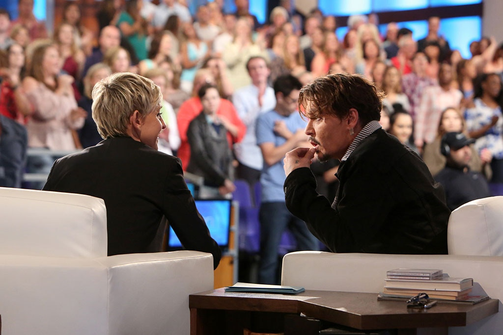 Johnny Depp The Ellen De Generes Show
