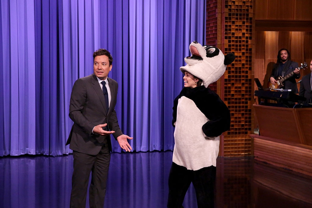 Miley Cyrus, Jimmy Fallon