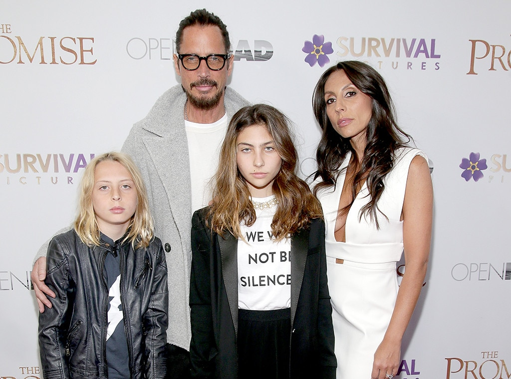 Chris Cornell, Toni Cornell, Vicky Karayiannis, The Promise Premiere