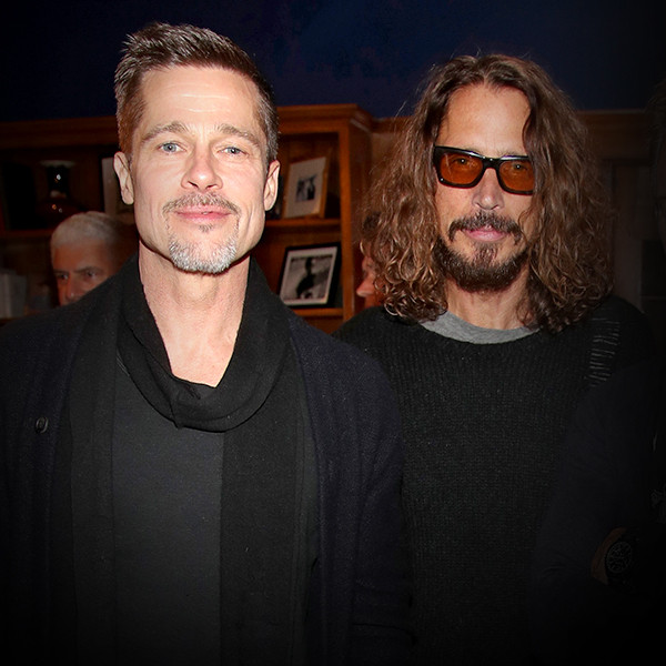 Chris Cornell, Brad Pitt