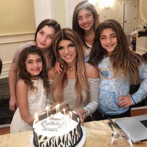 Teresa Giudice Celebrates Birthday With Her Girls Ahead of Family's Restaurant Opening