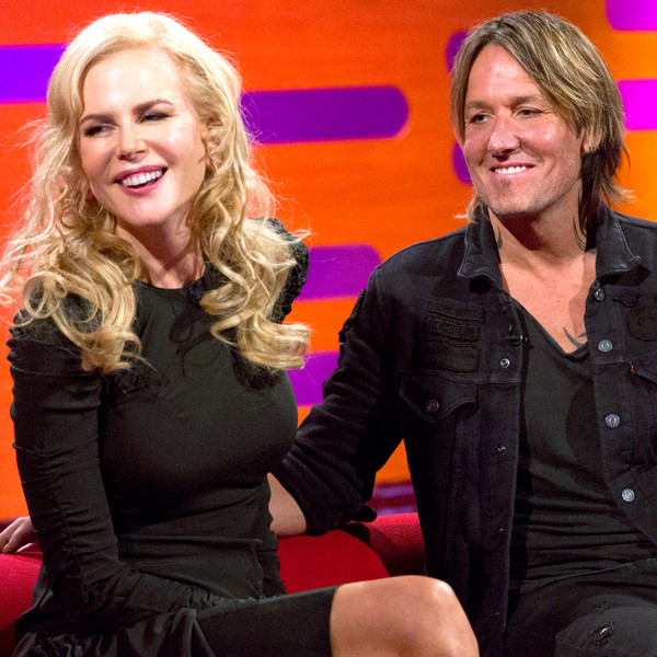 The GRaham Norton Show, Nicole Kidman, Keith Urban