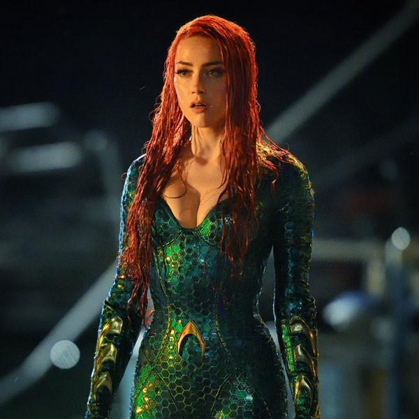 Amber Heard Wears New Mera Costume in 2 <i>Aquaman</i> Photos