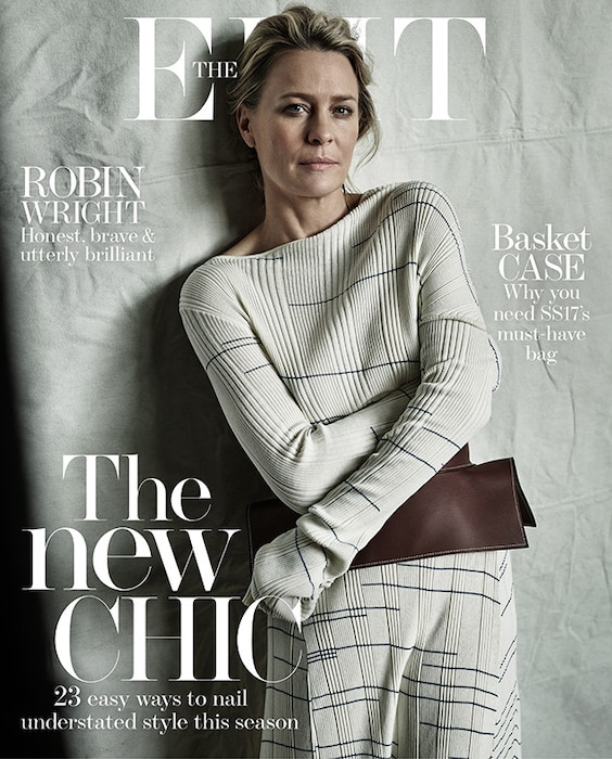 Robin Wright, The EDIT, Cover