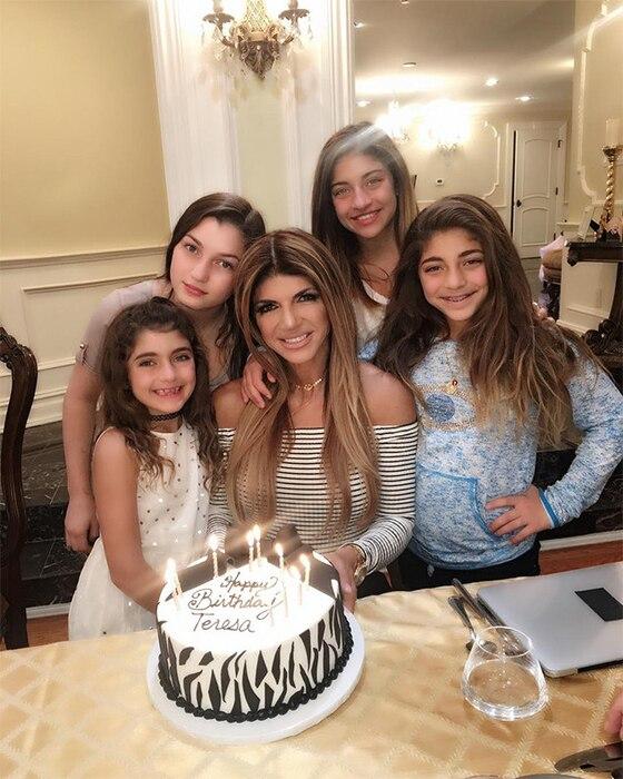Teresa Giudice, Birthday, Daughters, Gia, Gabriella, Milania, Audriana