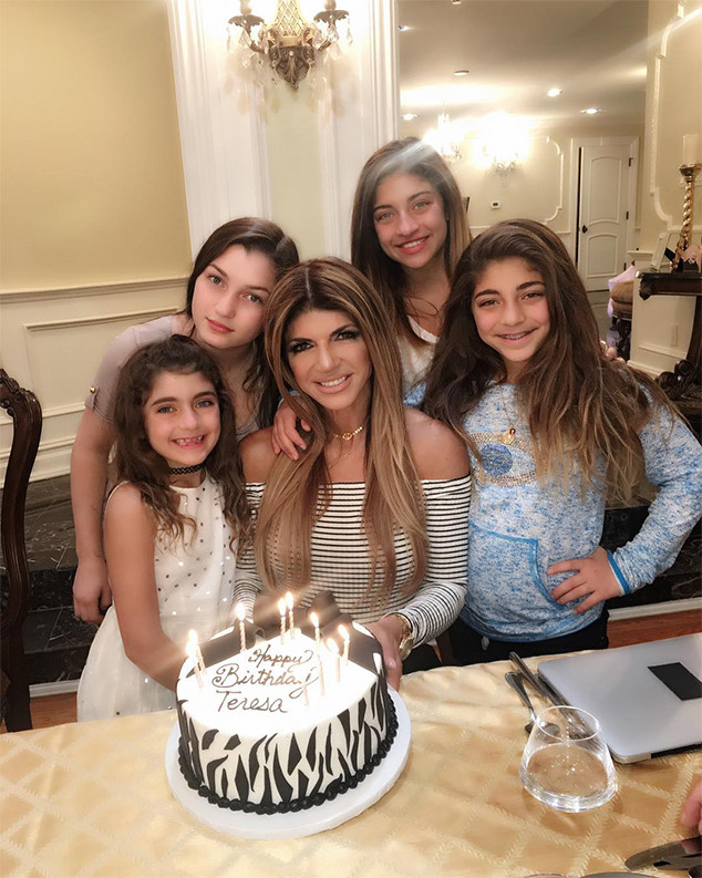 Teresa Giudice, Birthday, Daughters, Gia, Gabriella, Milania, Audriana