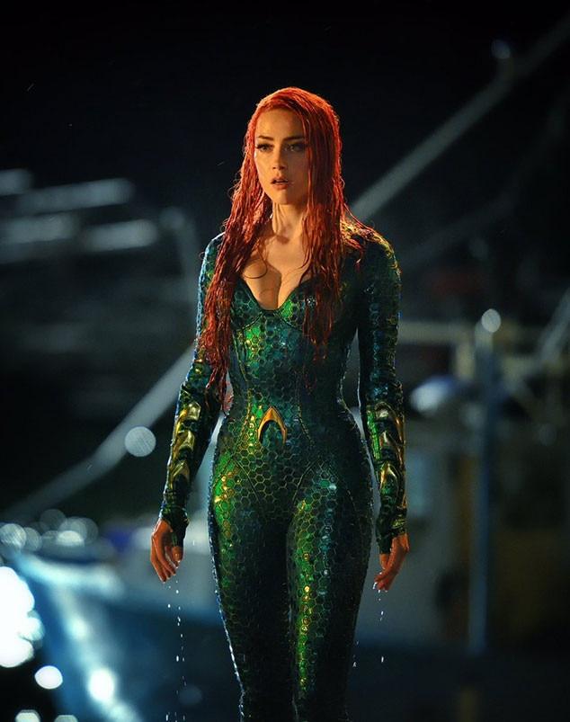 Amber Heard, Mera, Aquaman