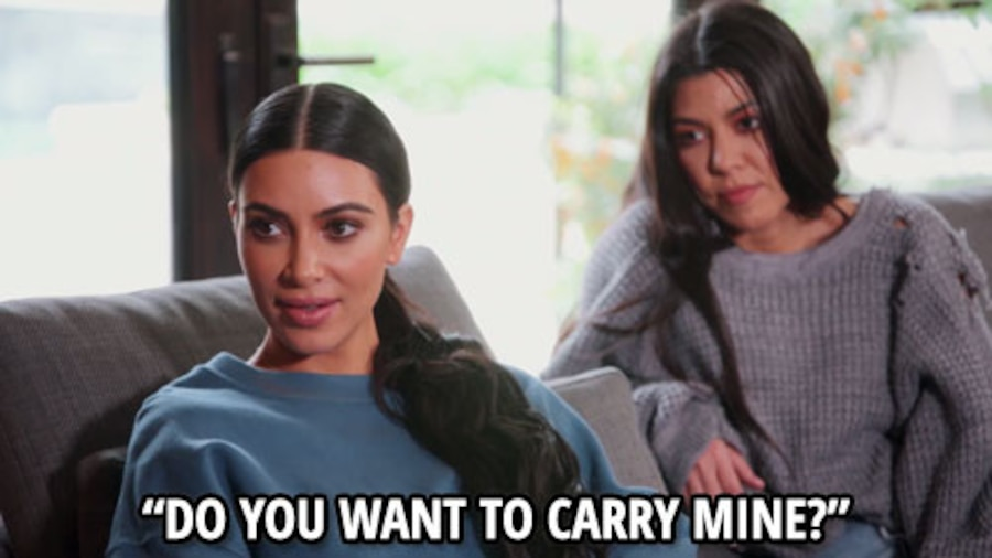 Kim Kardashian, KUWTK 1311