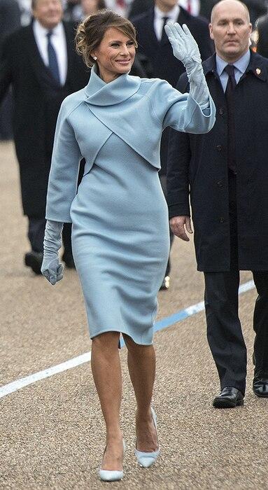 Melania Trump, Inauguration