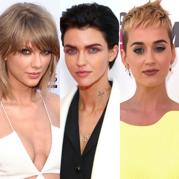 Taylor Swift, Ruby Rose, Katy Perry