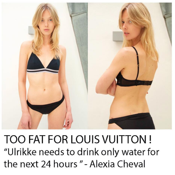 Louis Vuitton Casting Director Responds to Size 4 Model Who Claims She Was Sent Home From Show for Being ''Too Big''