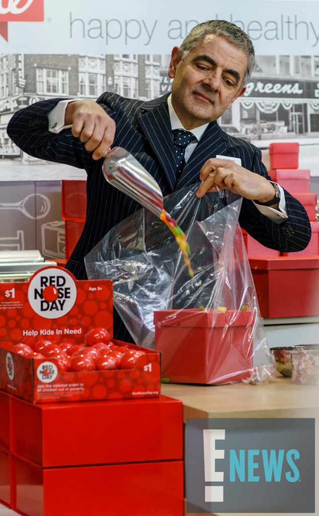 Rowan Atkinson, Red Nose Day