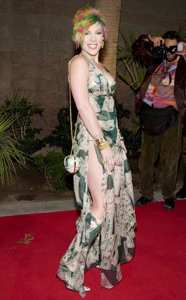 ESC: Billboard's Craziest Outfits, Pink