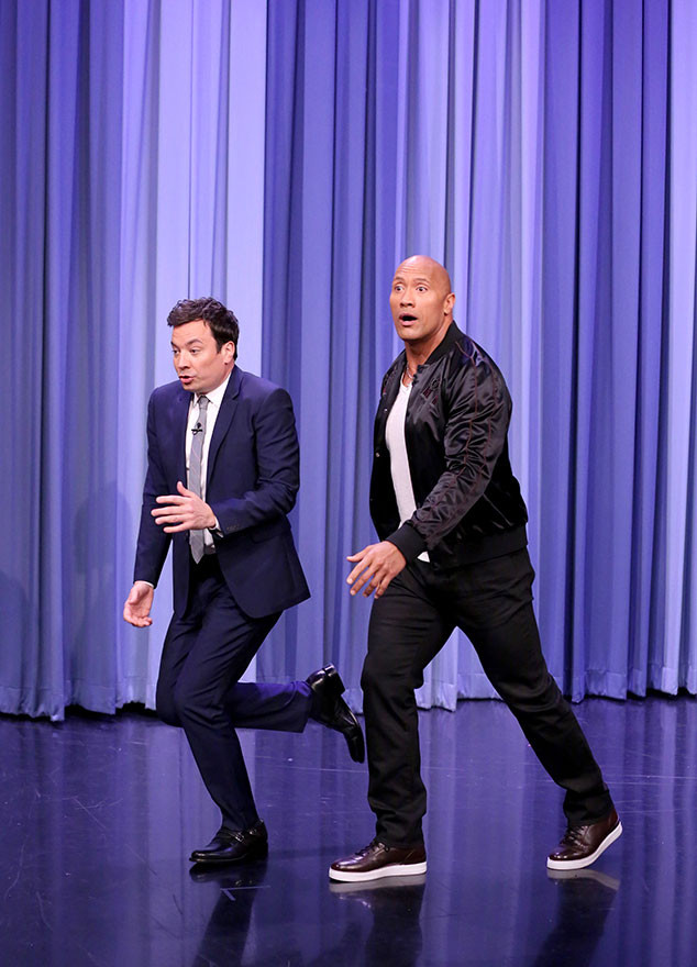 Jimmy Fallon, Dwayne Johnson, The Tonight Show