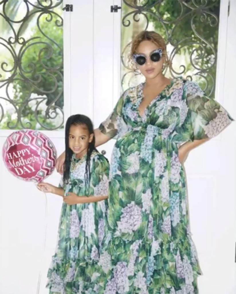 Beyonce, Blue Ivy, Instagram