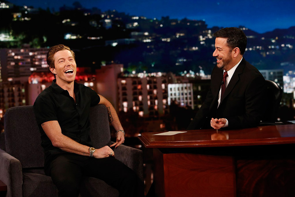 Shaun White, Jimmy Kimmel, Jimmy Kimmel Live