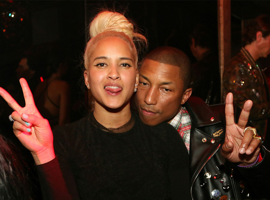 Helen Lasichanh, Pharrell Williams, The Rihanna Gala After Party