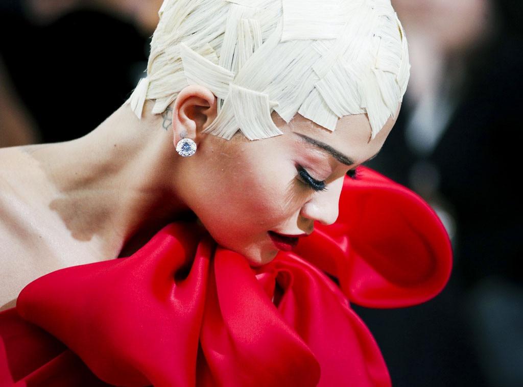 ESC: Rita Ora, Met Gala 2017, Beauty