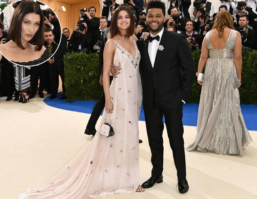 Selena Gomez, The Weeknd, Bella Hadid, 2017 Met Gala, Couples