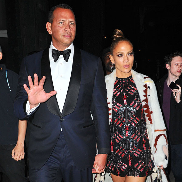 Jennifer Lopez, Alex Rodriguez, 2017 Met Gala After Party Pics