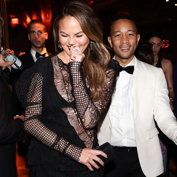 Chrissy Teigen, John Legend, 2017 MET Gala, The Boom Boom Afterparty